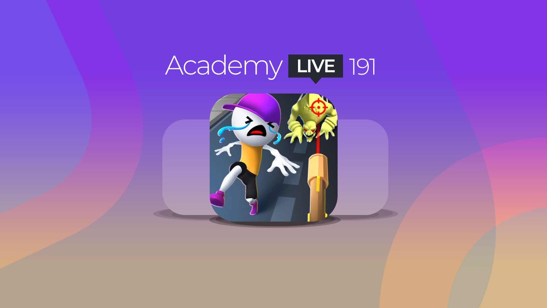Academy Live 191: Ice Man 3D, Save The Town, Deliveryman